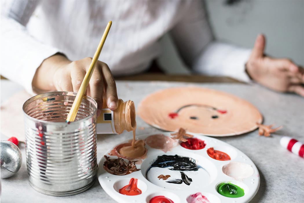 Un laboratorio espressivo per sviluppare la creatività.
