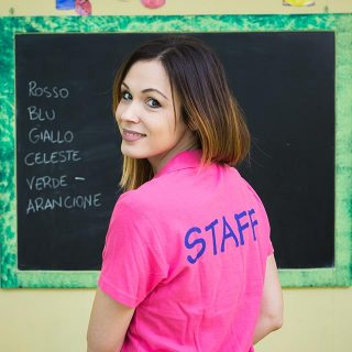 """Michela Cuozzo, direttrice della scuola dell'infanzia """"Futuri Talenti""""."""