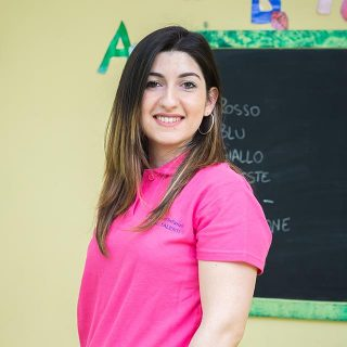 """Pamela De Luca, maestra della scuola dell'infanzia """"Futuri Talenti""""."""