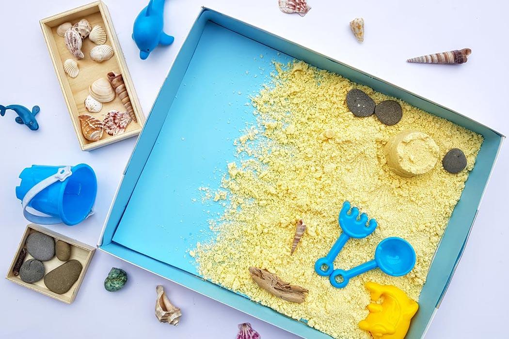La Scatola Azzurra: un gioco educativo- sensoriale.